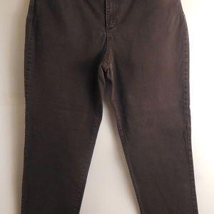 5161....Gloria Vanderbilt Bootcut Jeans Size 16